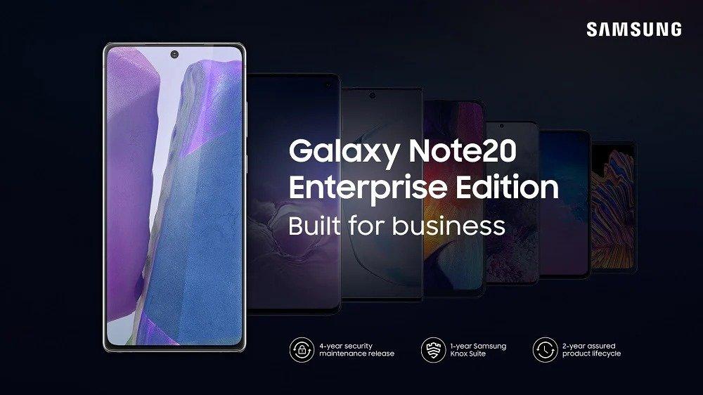 galaxy note 20 enterprise edition
