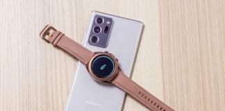 galaxy watch 3 bronze
