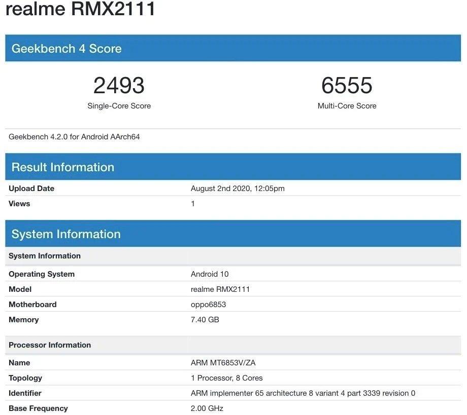 realme rmx 2111