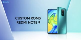 redmi note 9 custom roms