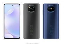 new phone looking like the POCO X3