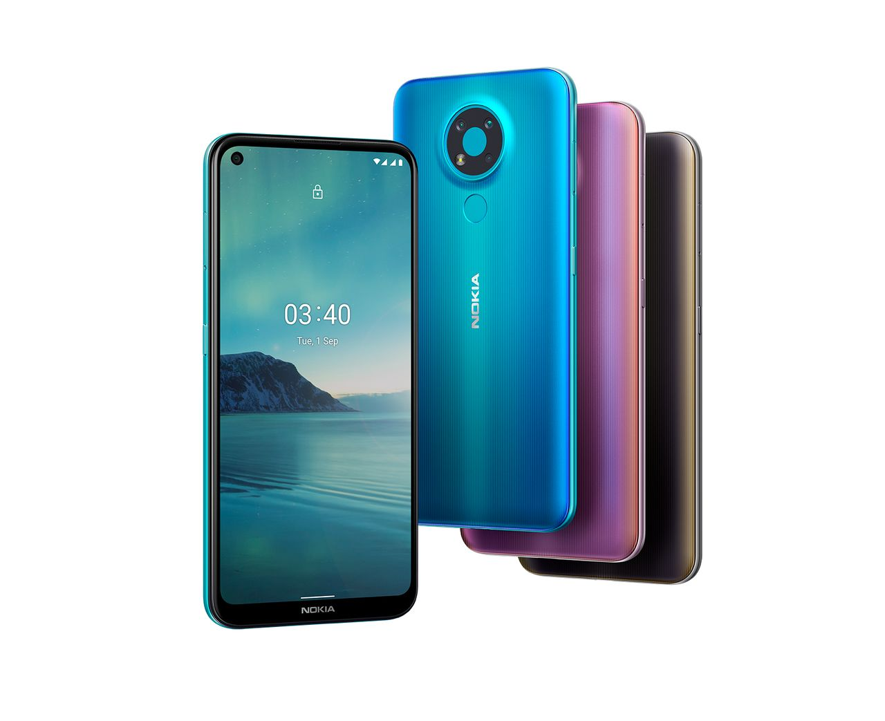 Nokia 3.4 colour variants