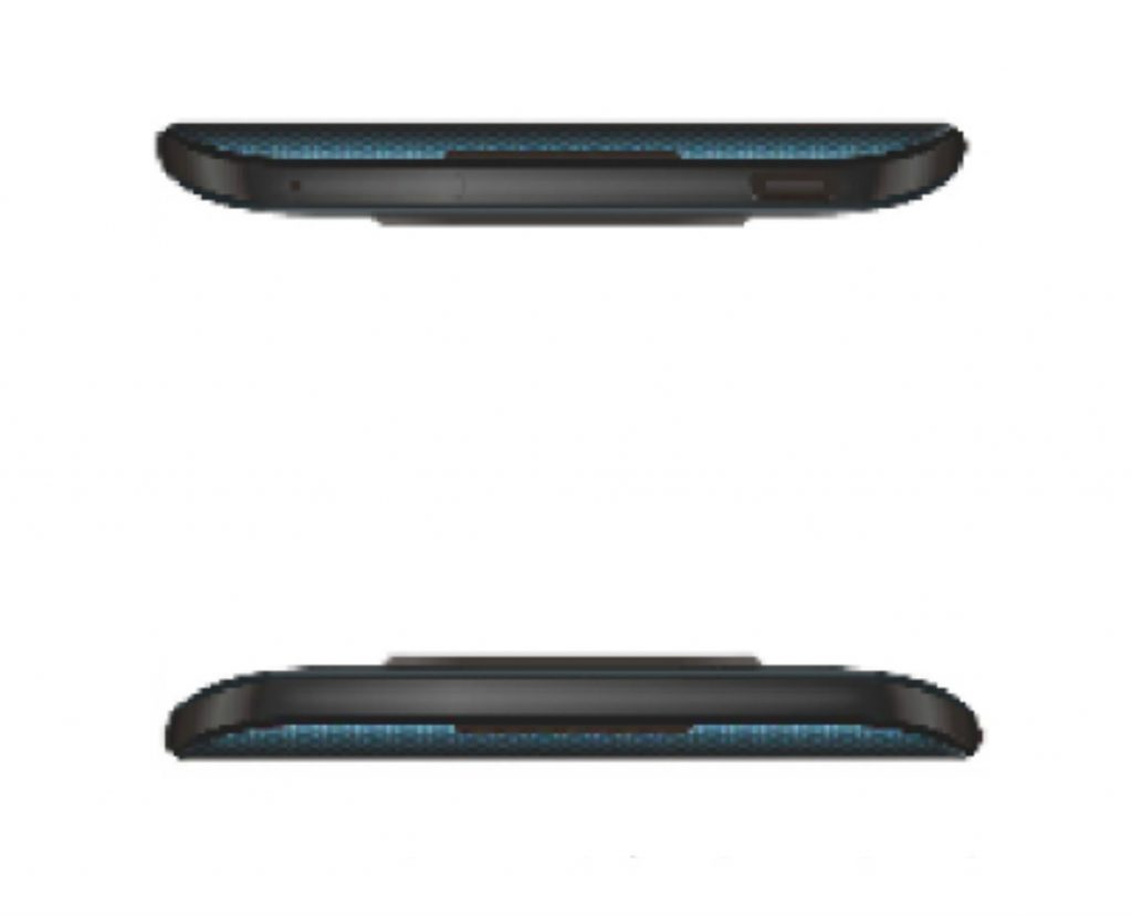 Oppo top and bottom
