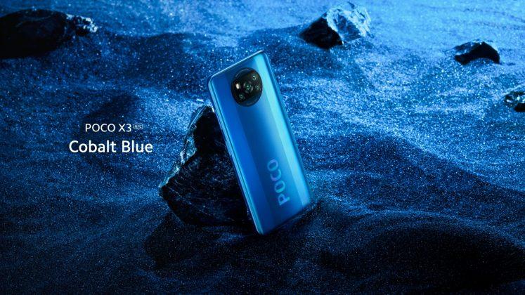 Poco X3 Cobalt Blue