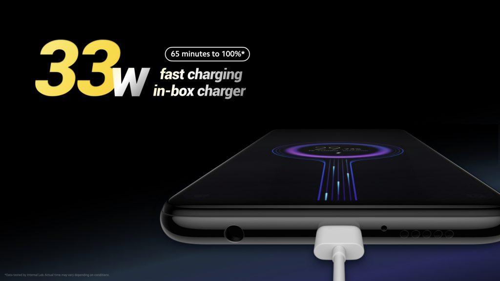 Poco X3 NFC fast charging