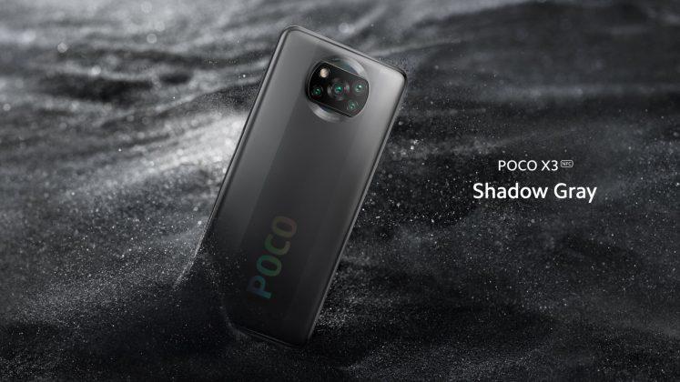 Poco X3 Shadow Gray