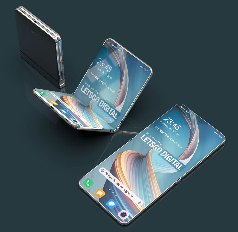 OPPO folding screen smartphone
