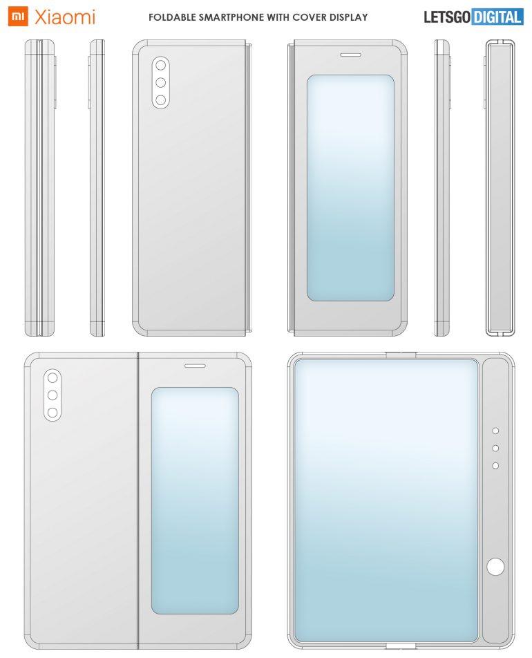 Xiaomi folding screen smartphone