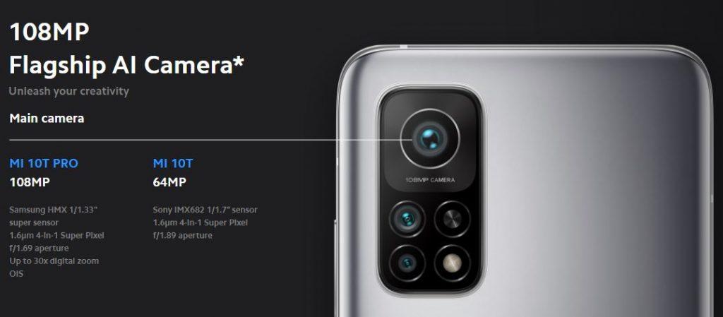 Xiaomi Mi 10T Pro Camera