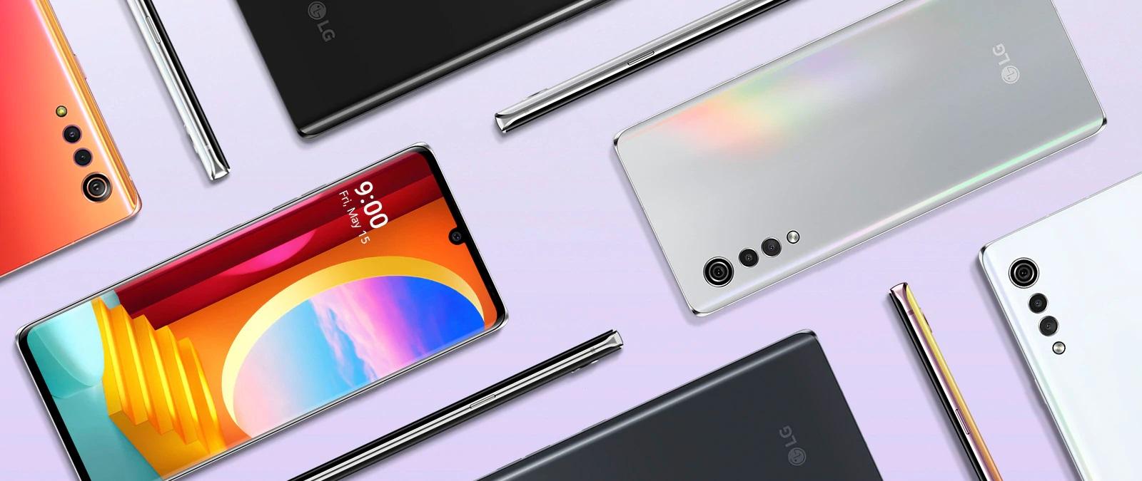 LG Velvet 4G variants
