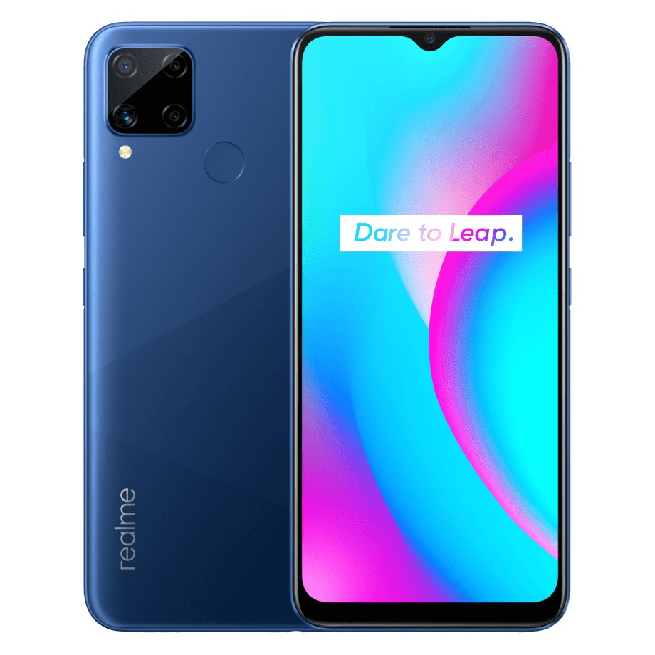 Realme C15 Power Blue