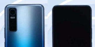 Vivo V2031EA smartphone