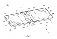 Huawei folding screen smartphone patent
