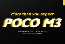 Poco M3 Teaser