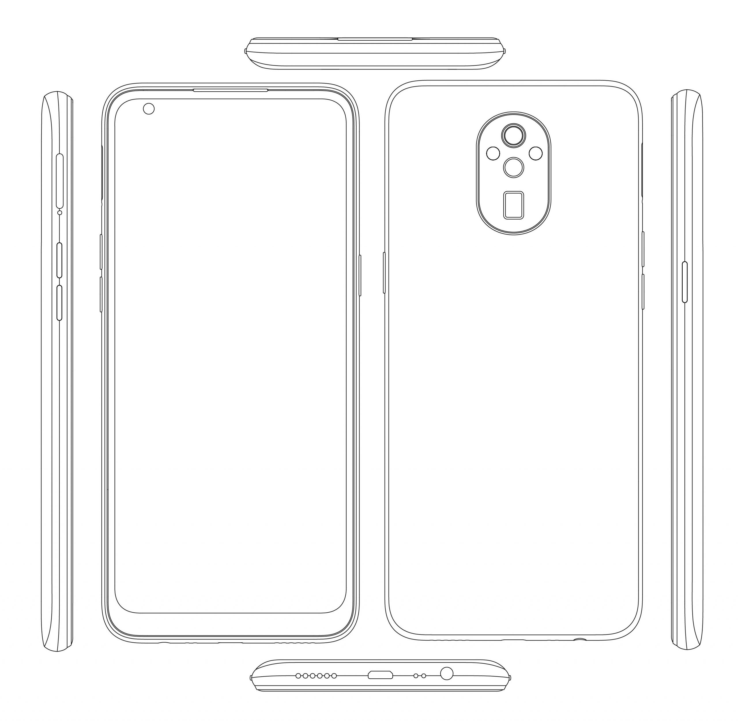 Realme patents Triple rear cameras with Periscope Lens