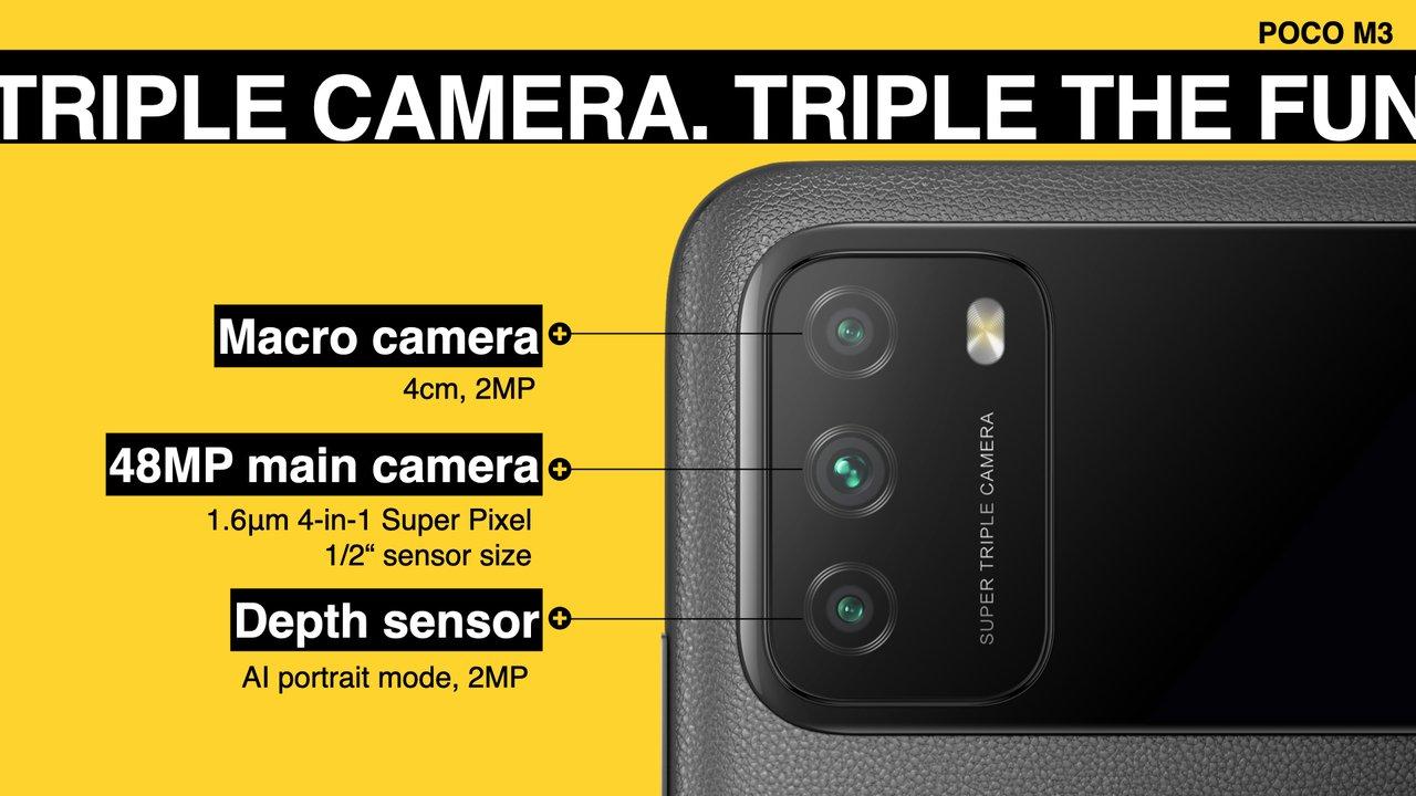 Poco M3 cameras