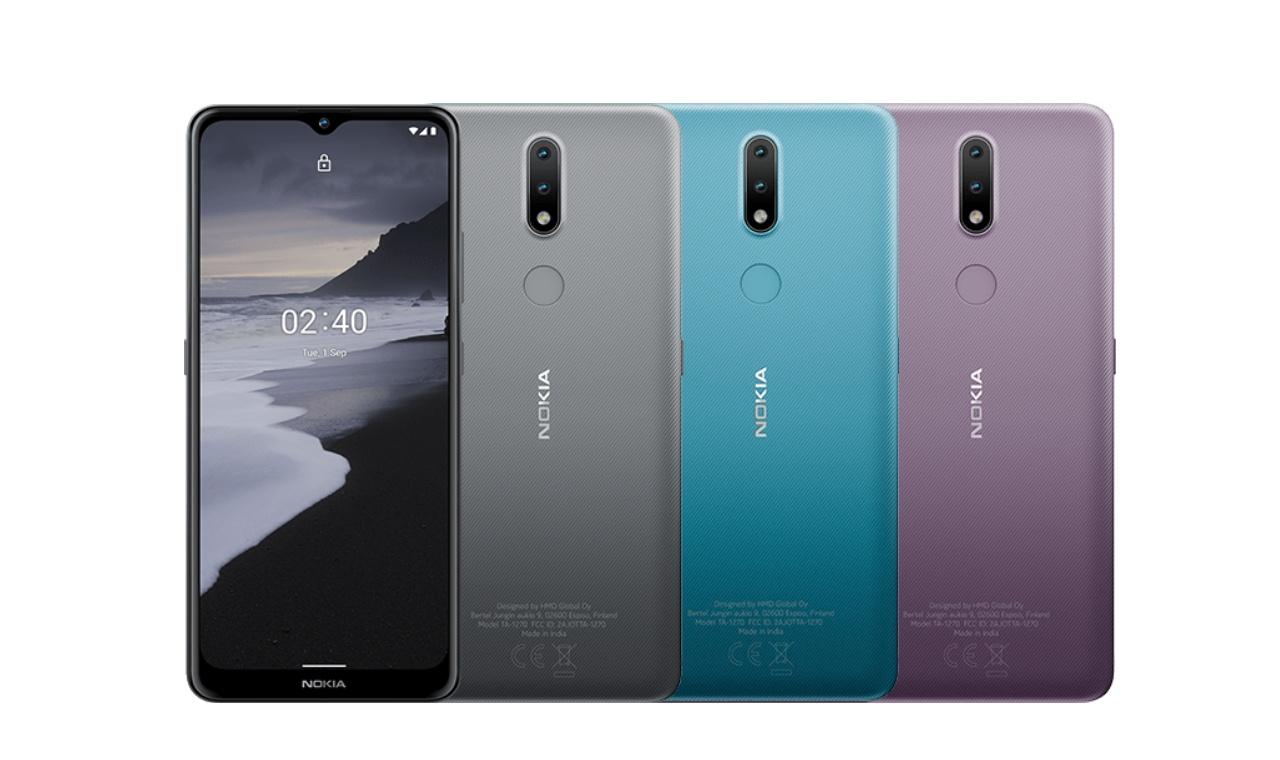 Nokia 2.4 Colour variants