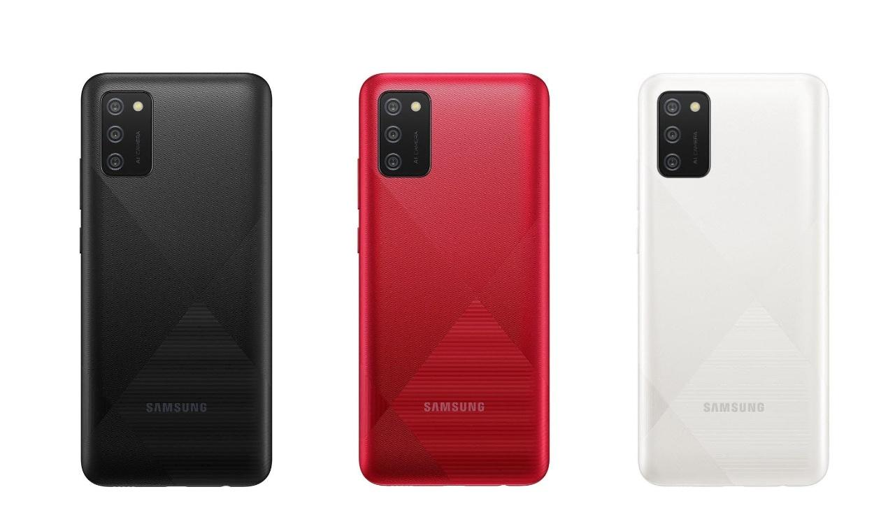Samsung Galaxy A02s colour variants