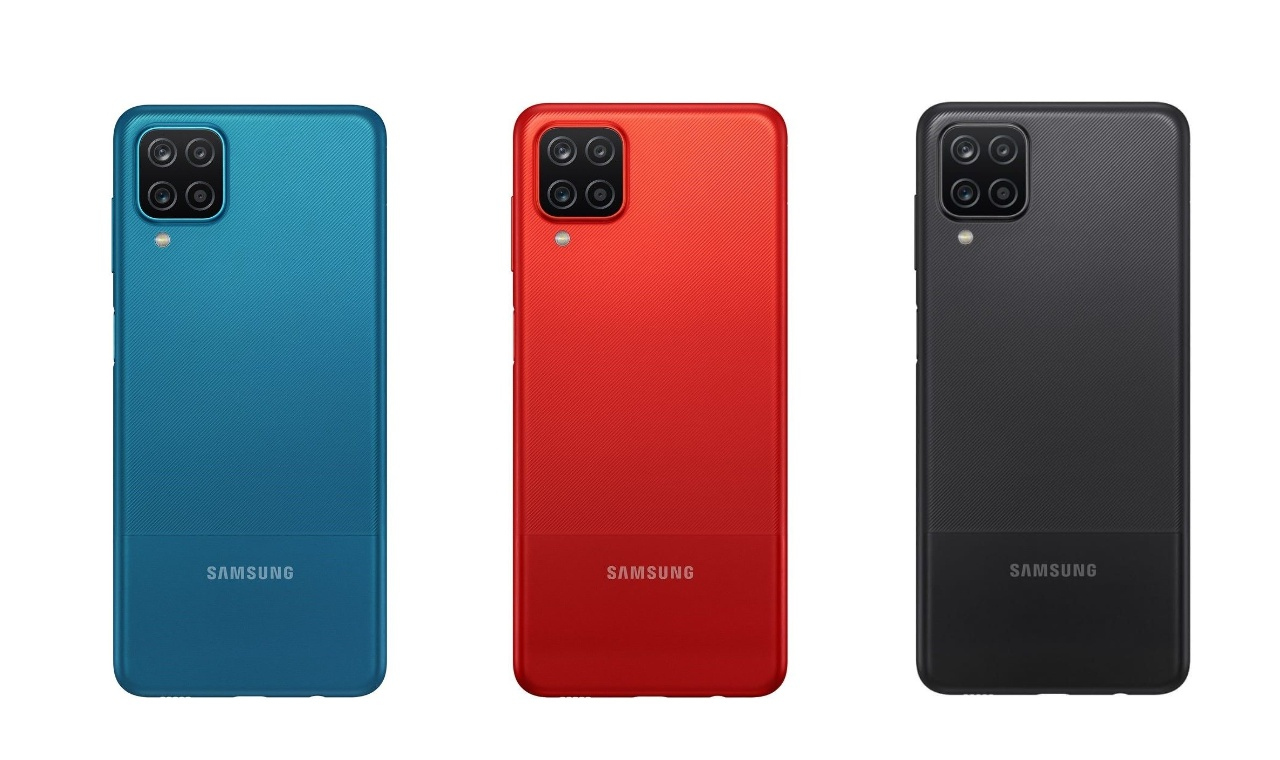 Samsung Galaxy A12 colour variants