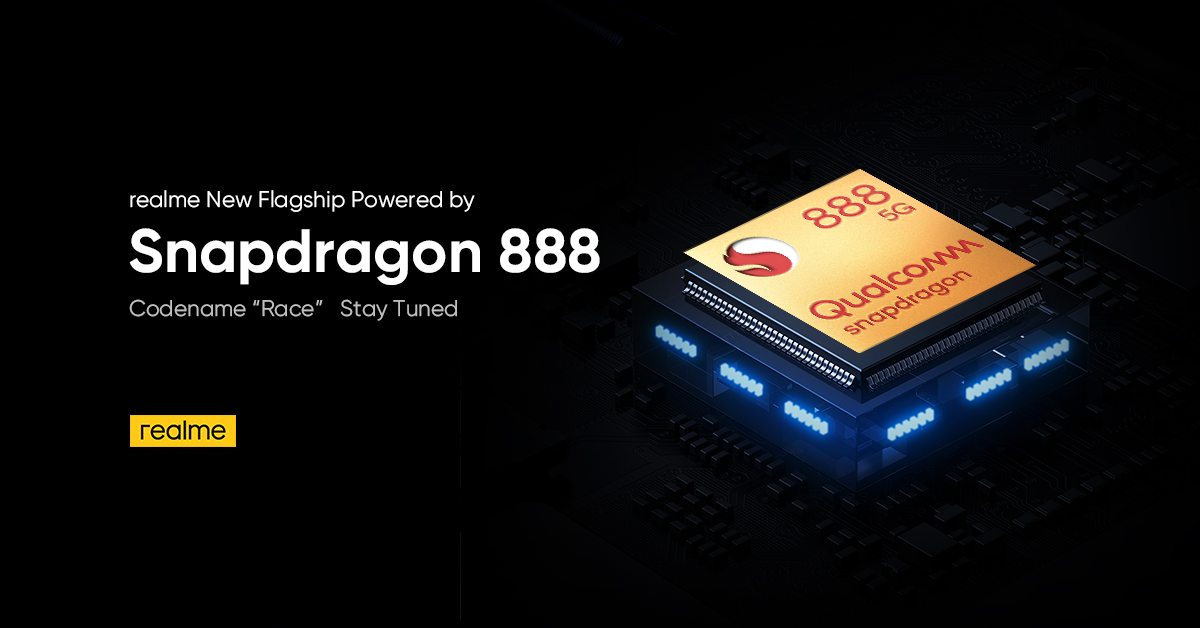 ealme Race confirmed with Qualcomm Snapdragon 888 SoC