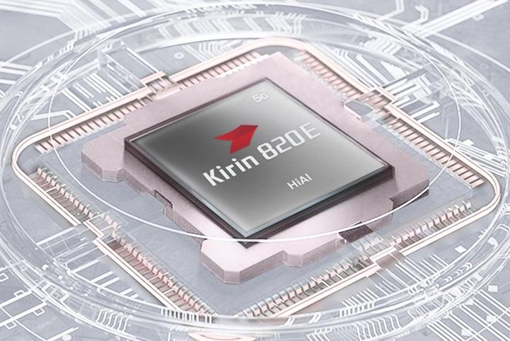 Huawei Nova 7SE lohas version with Kirin 820E