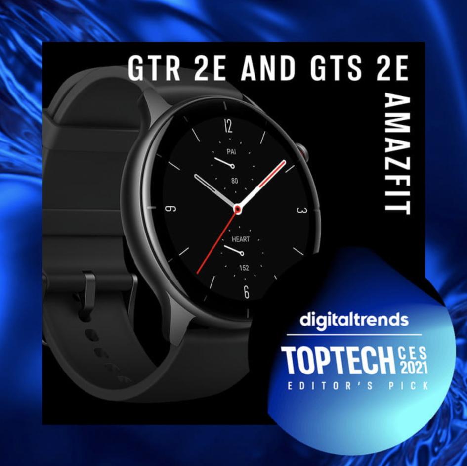 Amazfit GTS 2e and Amazfit GTR 2e