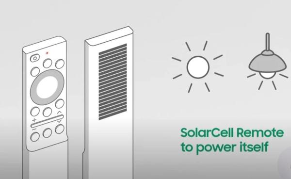 SolarCell remote control