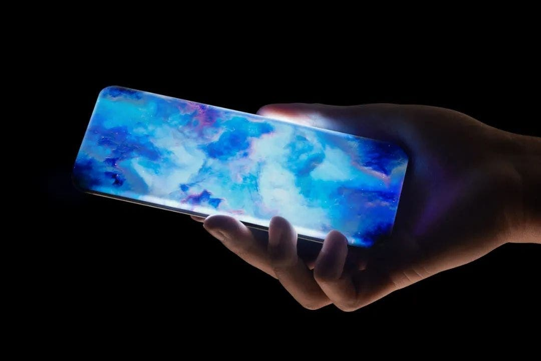 Xiaomi quad-curved waterfall screen concept phone