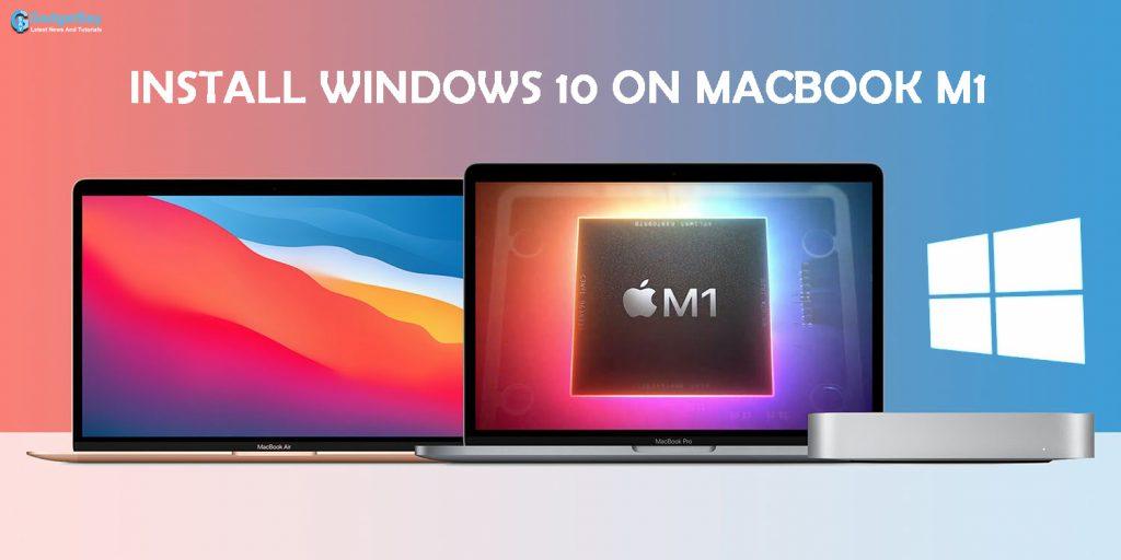 Install windows 10 on macbook m1