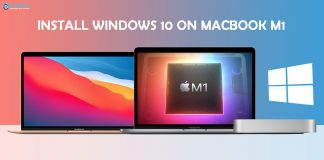 Install windows 10 on macbook m1