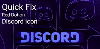 Fix the Red Dot on the Discord Icon