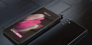 Samsung galaxy A82 pop-up rotating camera